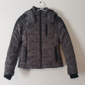 Danier Leather Down Filled Convertible Jacket